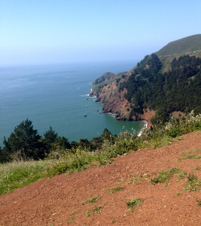 Amazing views from the Marin Headlands.
